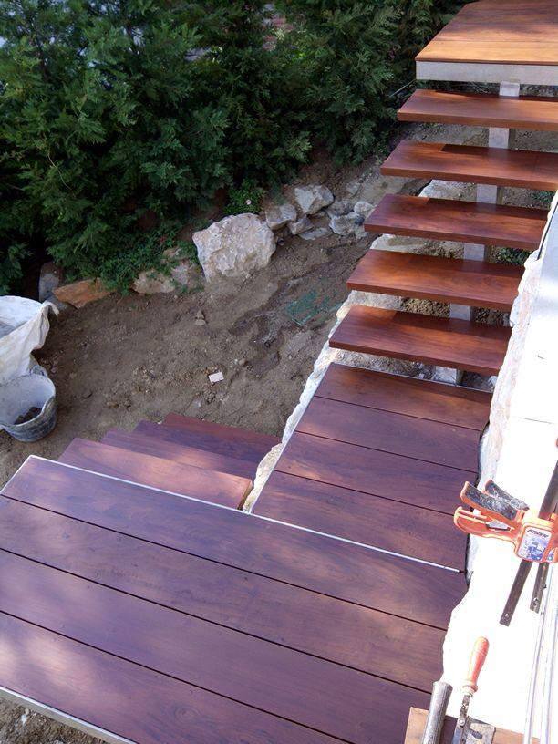 escalera exterior bolondo