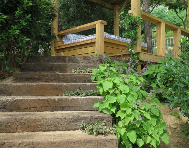 escaleras de traviesa