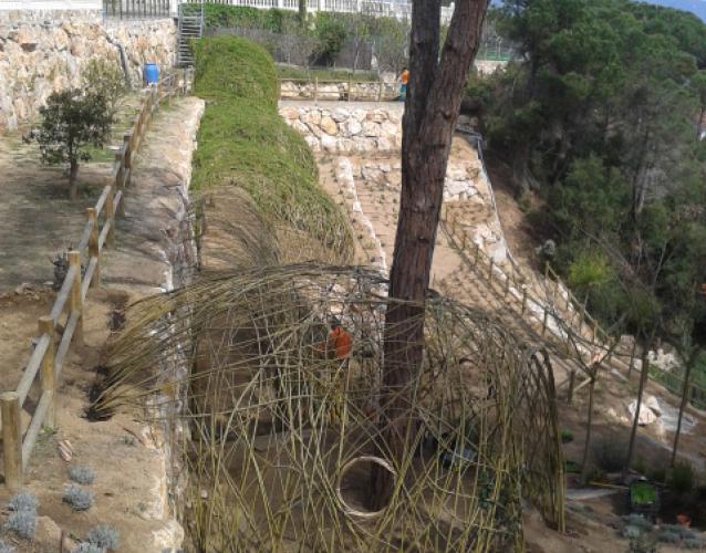 Construcci n y plantaci n de jardines landshaft - Paisajismo barcelona ...